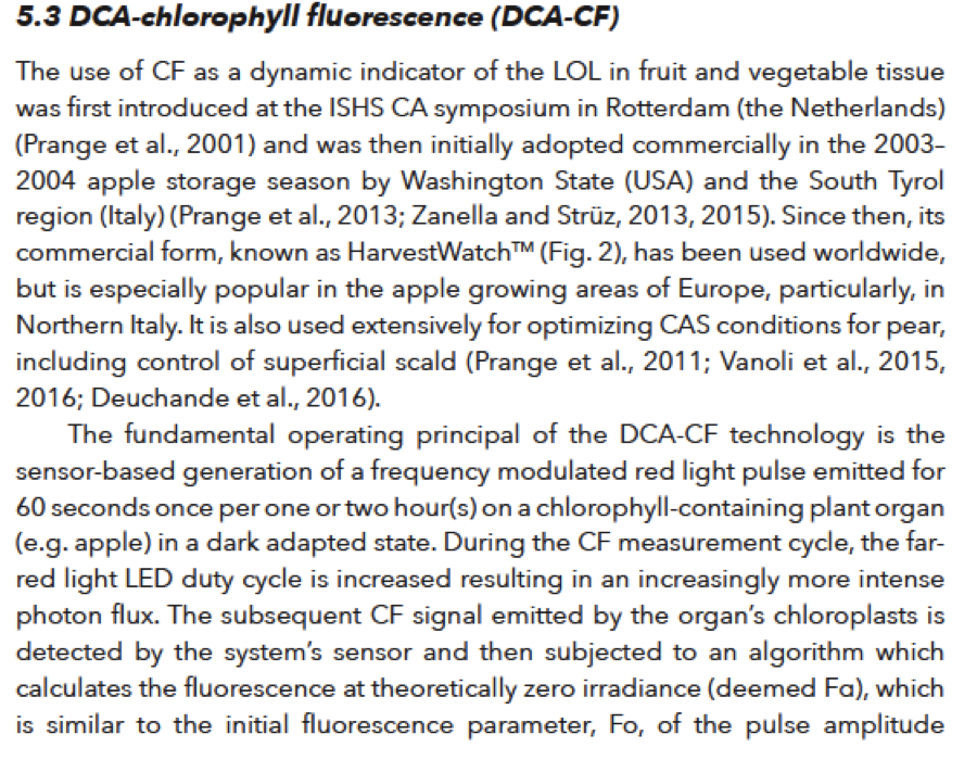 DeLong and Prange 2020 excerpt - Advances in CA storage of horticultural produce.